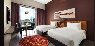 equarius hotel deluxe suites. Hard Rock Hotel Singapore Deluxe Twin Room Equarius Suites