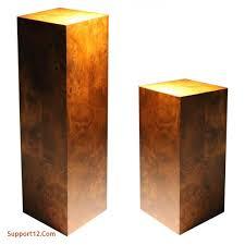 elegant sculpture pedestals