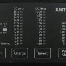 "xantrexâ""¢ power ac dc marine inc xantrex dom remote control panel"