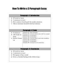 3 5 Essay Format 3 Paragraph Essay Template 2018 Printables Corner 5 Outline