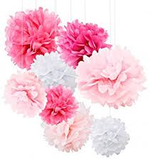Party Decorations Tissue Paper Balls Amazon Tissue Paper Pom Poms 100pcs Tissue Paper Flowers 83