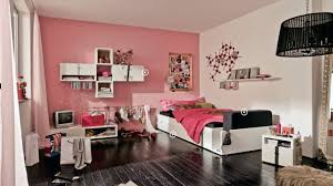 Teen Bedroom Black Floor And Pink Walls