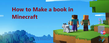How to Make a book in Minecraft 2019 Computer Inspire