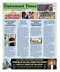 Eddm Charts 2017 Clairemont Times April 2017 By Clairemont Times Issuu