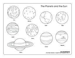 Solar System Coloring Pages Luxury Solar System Coloring Book Pages