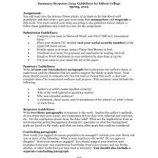 college summary response essay examples template likable response summary response essay examples template sample summary response essay examples divine summary response paper example