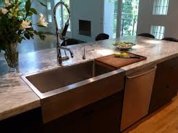 stainless steel farmhouse sink single bowl