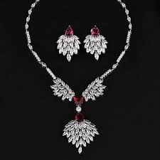 DOKOL <b>Luxury</b> Design <b>Elegant Wedding Jewelry</b> Sets Marquise Cut ...
