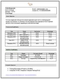 Resume Sample for Articleship Training (1)