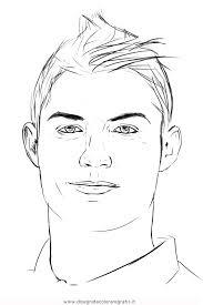 Disegno Cristiano Ronaldo 3 Categoria Sport Da Colorare
