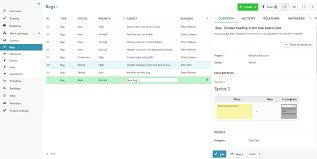 System Issue Tracking Template Bug Tracking Software Open Source Openproject Org
