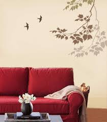 Small Picture Wall Paint Designs Living room wall stencils painting ideas