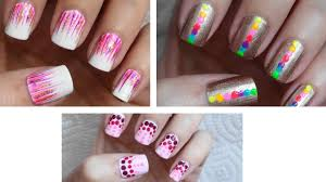 Easy Nail Art For Beginners!!! #6 - YouTube