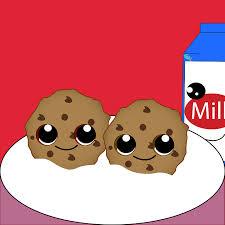 cookies and milk cute. Contemporary Cute Cute Cookie Milk Colorful With Cookies And Milk Cute K