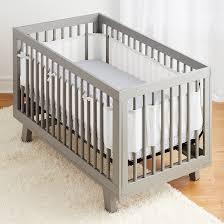 3pc classic crib bedding set white w navy