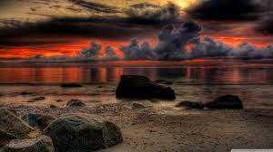 Dramatic Breathtaking Sunset HD desktop wallpaper : High .