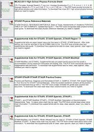 6th Grade Staar Chart Staar Physics Formula Chart Pdf Free Download