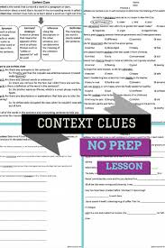 best 25 context clues worksheets ideas on pinterest lessons 4th ...