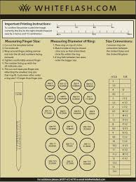 Zales Ring Size Chart White Gold Locket
