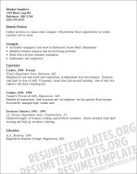 cashier resume samples example 5 example of cashier resume