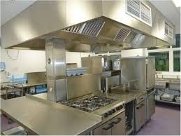small commercial kitchen designed