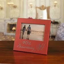 40th ruby wedding anniversary frame gift for 40th wedding anniversary