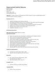 Resume Sample For Cashier Position Best of Cashier Job Resume Sample Cashier Resume Sample Cashier Job