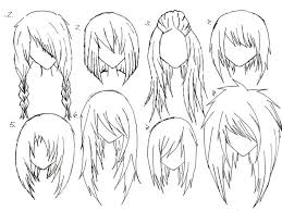 how to draw anime girl hair step by step for beginners. Wonderful How Image Result For How To Draw Anime Girl Hair Step By Drawing  Easy To By For Beginners A