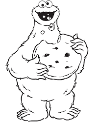 Small Picture Cookie Monster Eating Cookies Are Great Coloring Pages Cookie