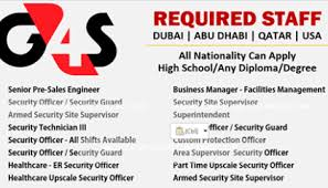 G4s Global Integrated Security Company Jobs Opportunities