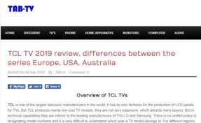 Tcl Tv 2019 Review Differences Between The Series Europe