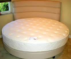 bed frame and mattress set. Circle Bed Mattress Pillow Top Round Set Frame And