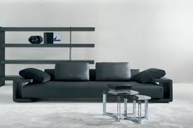 corner sofa contemporary leather 7 seater and up brÜcke by g vegni g gualtierotti