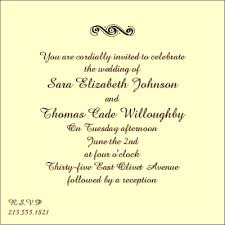 Wedding Invitation Wording Samples | theagiot