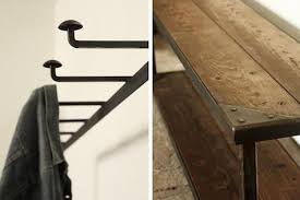 The Coat Rack Storage Coat Rack Bench at Strawser Smith in Brooklyn Remodelista 85