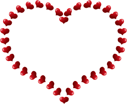 valentines day heart frame png high quality image