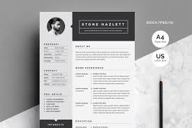 Resumecv Template 2 Pages