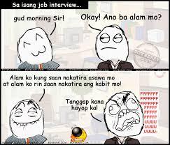 Tagalog Funny Applicant Jokes Collection Boy Banat
