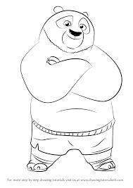 Kung Fu Panda Drawing At Getdrawingscom Free For Personal Use
