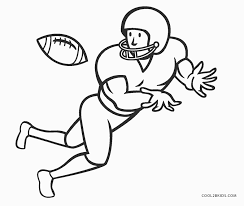 Baseball coloring pages to print. Free Printable Football Coloring Pages For Kids