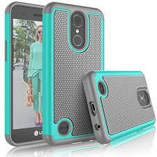 Amazon.com: Tekcoo LG K20 V/LG Plus Case, Harmony/V5/K10 2017 Cute [Tmajor] Shock Absorbing [Turquoise] Rubber Plastic Scratch Resistant Harmony/V5