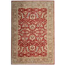 red ziegler mahal oriental rugs carpet from afghanistan
