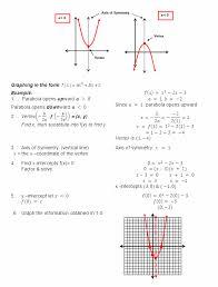 solving quadratic equations 5 graphing quadratic functions