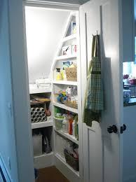 Closet Under Stairs Storage Ideas