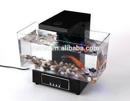 office desk aquarium. Desk Fish Tank Led Desktop Aquarium Mini Aquariums With Touch Table Lamp Alarm . Office