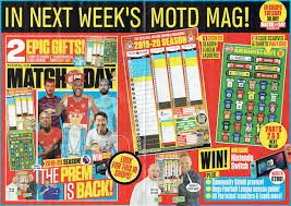 Football League Table Wall Chart Football Cartophilic Info Exchange Match Of The Day