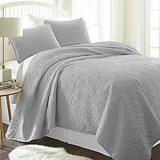 Bed Size Twin/Twin XL Quilts & Coverlets - Sears & ienjoy Home Home Collection™ Premium Ultra Soft Damask Pattern Quilted  Coverlet Set Adamdwight.com