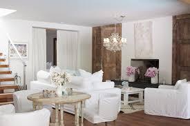 Pamela Anderson's Magincal Modern Malibu Home shabby-chic-style-living-room