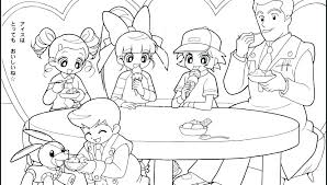 Powerpuff Girls Z Coloring Pages Adult Frightening Awesome Girl