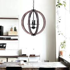 wooden orb chandelier inch distressed weathered oak 4 light wood orb chandelier white wood orb chandelier